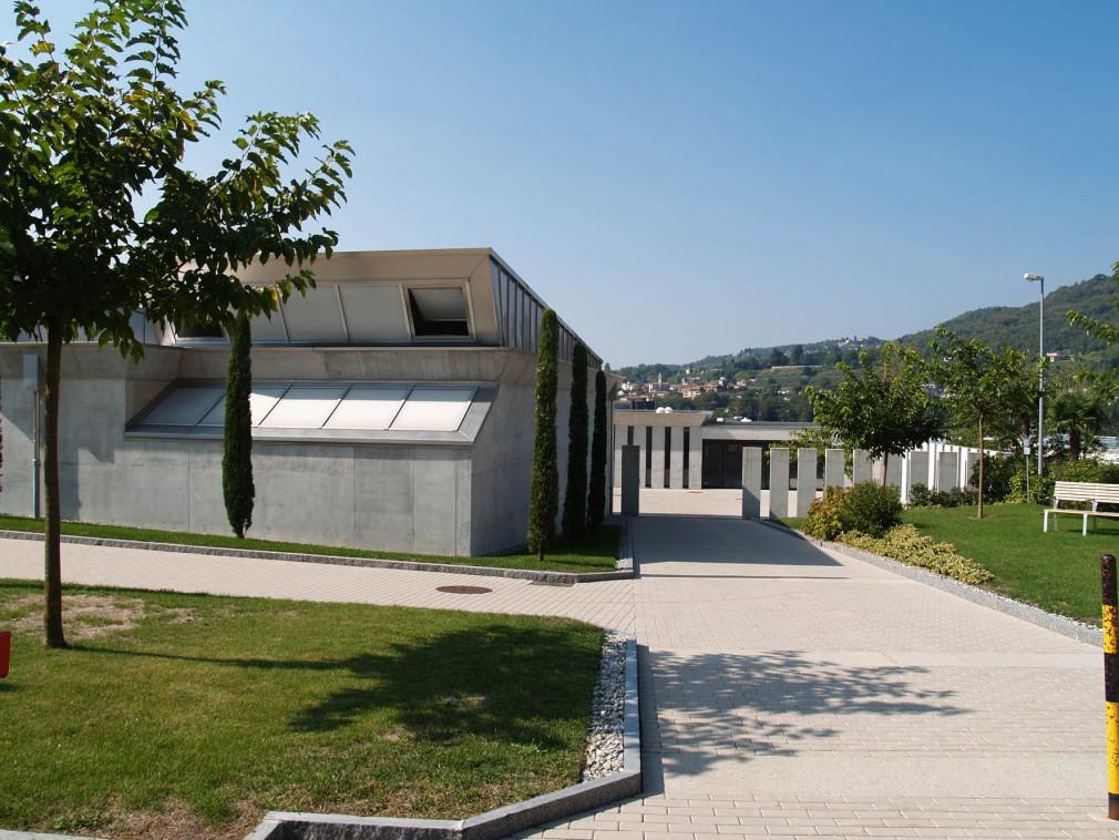 centro funerario Mendrisio